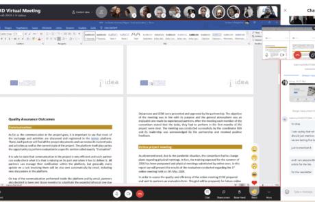 IDEA Virtual Meeting 3 Partners 3IDEA Virtual Meeting 3 SM 2